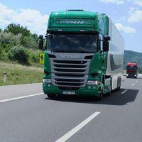 Водій вантажівки в Польщі